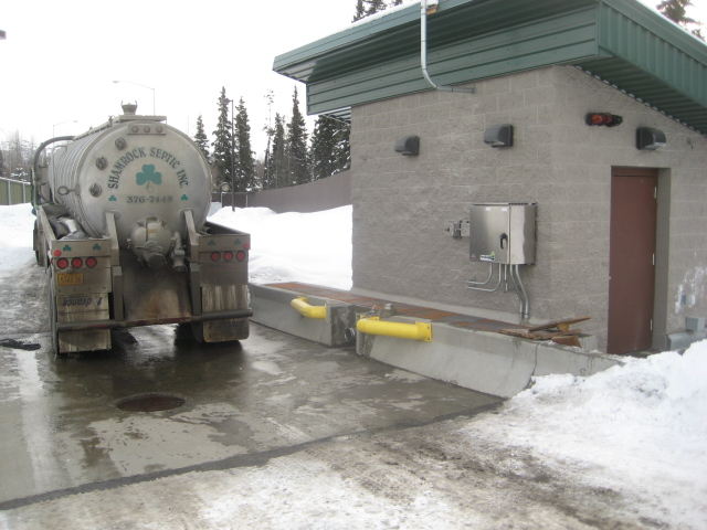 A Portalogic Septage Receiving Station at Anchorage Water & Wastewater utility