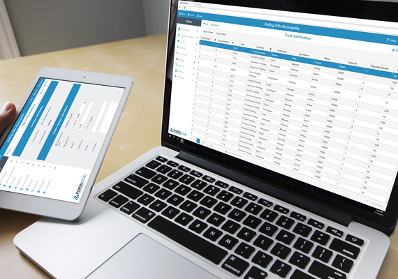 Portalogic management software is a responsive web application for monitoring and controlling hauler stations for septage receiving and bulk water dispensing.