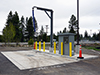 A Portalogic FS72 Water Dispensing Station in Truckee, CA.